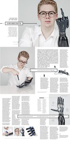 "Wired Italy - issue nr 70 ""Patrick Kane"" Art direction: Corrado Garcia Photo Editor: Francesca Morosini Photo: Paul Stuart"