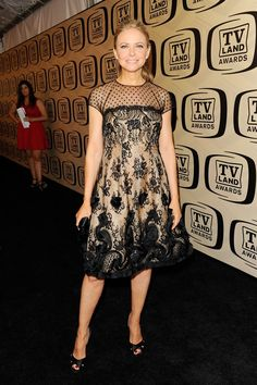i love this dress Faith Ford wore to the 10th Annual TV Land Awards