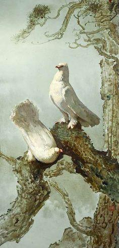 Lee Man Fong - Doves