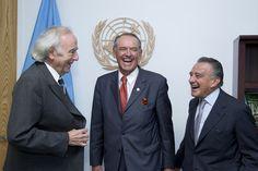 Deputy Secretary-General Meets Representatives of Raoul Wallenberg Foundation