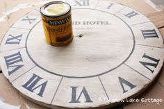 DIY Faux Clock Face | Meadow Lake RoadMeadow Lake Road