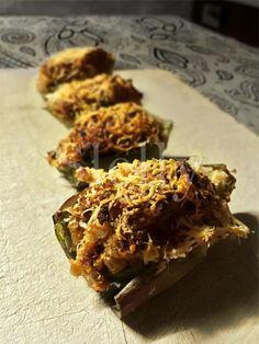 SLELLY: CARNOCI - Carciofi ripieni di noci e pomodori secc...