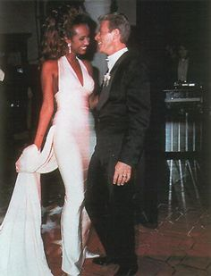 Iman and David Bowie appreciation thread <3 On their Wedding Day In Florence,Italy 1992...