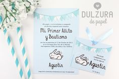 Invitación Bautismo y Primer Añito nene #invitacion #imprimible #cumpleaños #bautismo Pink Gold Party, Pink And Gold, Boy Baptism, Christening, Baby 1st Birthday, Baby On The Way, Love Is Sweet, Communion, First Birthdays