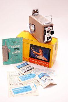 $25 etsy Kodak Brownie movie camera 8mm