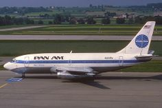 Pan Am Boeing 737-200; N381PA, May 1985