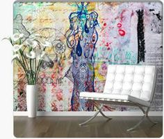 nice decorative background in golden colors Peel Off Wallpaper, Wallpaper Murals, Custom Wall Murals, Barcelona Chair, Golden Color, Graffiti, Candles, Nice, Furniture