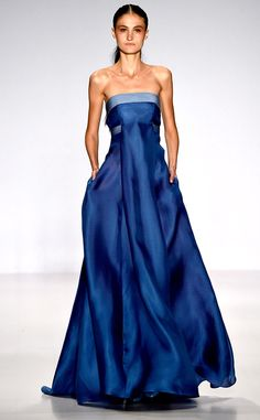 Pamella Roland from Best Looks From New York Fashion Week Spring 2015 *not a fan of the model*