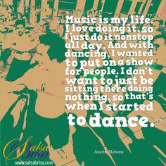 Dance quote of the day