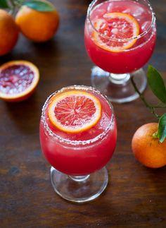 Blood Orange Margarita by whiteonricecouple #Cocktail #Margarita #Blood_Orange