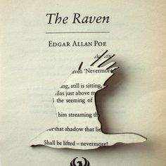 Poe The Raven brooch Classic book brooches made by houseofismay