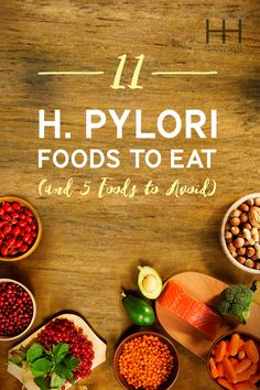 How to test for H. Pylori 11 H. Pylori-Fighting Foods to Eat (And 5 to Avoid) and how to cure it naturally. Ulcer Diet, Gastritis Diet, Diverticulitis, Hypothyroidism, Heartburn, Natural Cancer Cures, Natural Cures, Natural Healing, Natural Treatments