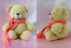 Free crochet pattern forever friends bear.