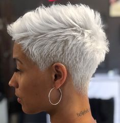 60 Great Short Hairstyles for Black Women African American Short Grey Hair African africanamericanhair american Black Great Hairstyles Short women Short Grey Hair, Short Blonde, Short Hair Cuts, Short Hair Styles, Blonde Hair, Pixie Cuts, Wavy Hair, Short Pixie Haircuts, Short Hairstyles For Women