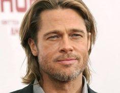 Brad Pitt Says It's Not Strange Brad Pitt And Angelina Jolie, Jolie Pitt, Oklahoma, Brad Pitt Short Hair, Jennifer Aniston, Brad Pitt Fury Haircut, Bradd Pitt, 90s Haircuts, Hair Evolution