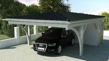 NEU Premium Carport 6.00 x 7.50 mit Geräteraum 33% Onlinerabatt Carport ab Werk