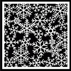 Snowflake Background by Bird - free cutting file