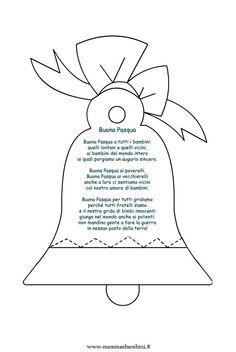 Si è cercato poesie pasqua - Pagina 3 di 6 - Mamma e Bambini Italian Lessons, School Clipart, Christmas Crafts, Alice, Clip Art, Butterfly, Easter, Diy Crafts, Quilts