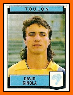 David Ginola of Toulon in Football Stickers, Football Cards, Football Soccer, Baseball Cards, David Ginola, Laws Of The Game, Good Soccer Players, Association Football, Most Popular Sports