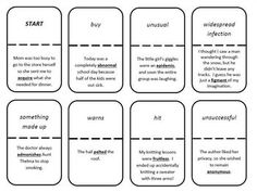 {FREEBIE!} This context clue graphic organizer is great