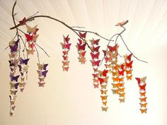 Baby MobileButterflies on Branchkit3DMobileCrib by youngheartslove, $21.95
