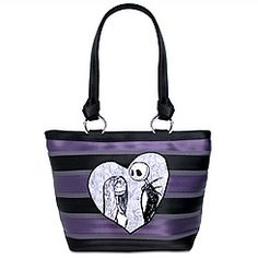 Harveys for Disney Couture Jack & Sally Carriage Ring Tote