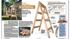 Safe to use and inexpensive to build, A-frames and a couple of planks beat working from a ladder
