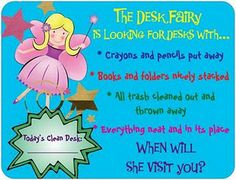 desk fairy - I've totally used this and it works!