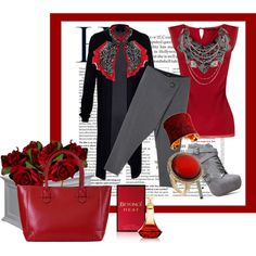 Red Fall - Polyvore