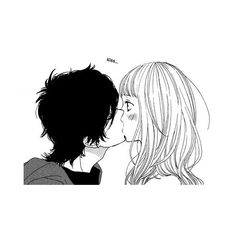 Manga+Anime ❤ liked on Polyvore featuring anime, manga, fillers, drawings, couples, doodle, backgrounds, quotes, effect and phrase