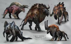 Bull Concept by jaroldsng on DeviantArt