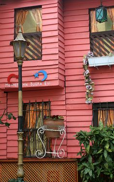 colorful and old house __Sultanahmet, Istanbul, Turkey