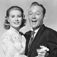 Turner Classic Movies — Remembering Bing Crosby on his birthday, here with. Classic Hollywood, Old Hollywood, The Kelly Family, Turner Classic Movies, Religious Wedding, Bing Crosby, Civil Wedding, High Society, Old Movies