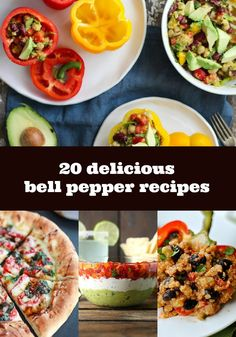 20 delicious bell pepper recipes