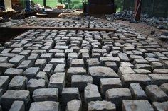History Beneath Our Feet: The Cobblestones in the Shattuck Hall Ecological Learning Plaza