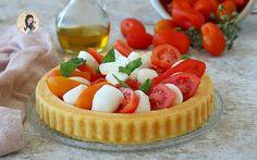Torte salate Archives - Vale cucina e fantasia Finger Foods, Cheesecake, Mozzarella, Desserts, Pane, Pies, Tailgate Desserts, Finger Food, Cheese Cakes
