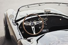 This 1965 Shelby Cobra 289 is one of the cleaner, more minimalist examples of the more-famous-than-Elvis car that's been a poster on every. Maserati, Bugatti, Ferrari, 1965 Shelby Cobra, Ac Cobra, Shelby Car, Damon Salvatore, Royce, My Dream Car