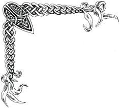 irish celtic knots BOARDER | Celtic Knot Border Gallery for celtic png