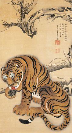 伊藤若冲 ITO Jakuchu (1716~1800), Japan