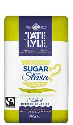 White Sugar with Stevia