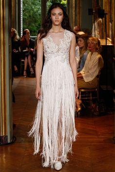 Alberta Ferretti Limited Edition Fall 2016 Couture Fashion Show - Greta Varlese