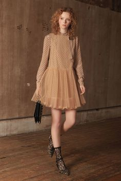 Red Valentino Pre-Fall 2018 Fashion Show Collection