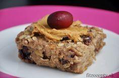 Výborný ovsený koláč bez cukru a múky - skvelé fitness raňajky, ktoré zasýtia Cooking Light, Ham, Banana Bread, Protein, Food And Drink, Yummy Food, Snacks, Vegan, Cookies