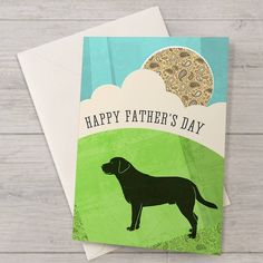 labrador father's day card by well bred design | notonthehighstreet.com