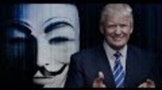 Anonymous calls for 'total war' on Donald Trump