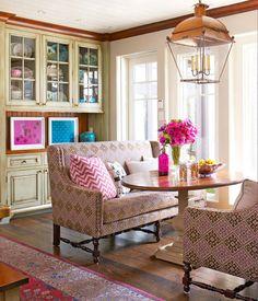 Breakfast Room by Liz Caan (Traditional Home)