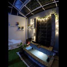 Desain Rumah Unik Tipe 45 m: Meski Mungil, Ada Indoor Garden! Minimalist House Design, Minimalist Home, Type 45, Ponds Backyard, House Layouts, Indoor Garden, Home Decor Inspiration, My Dream Home, Save Image