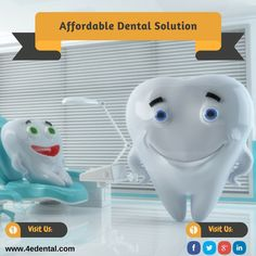 #4eDental is an #AffordableDentalImplantation, state-of-the-art facility, world-class technology, soothing ambiance and handpicked dentist have positioned us in such a way to attract #patients and celebrities from South America, USA, India, and Gulf.