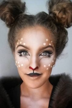 Deer Makeup Halloween Costume Ideas You'll Want to Fawn Over