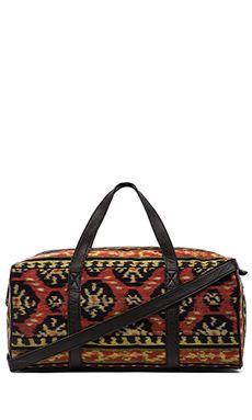 Cleobella Jave Duffle Bag in Sunset Ikat & Black | REVOLVE
